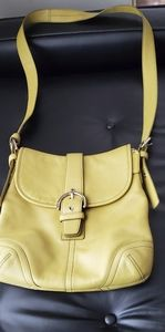 Vintage Coach Legacy crossbody bag